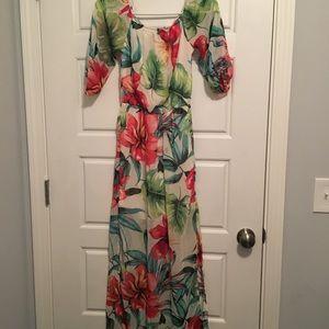 Flower Fashion Nova Dress